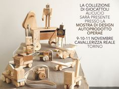 Lovely rustic wooden creations.