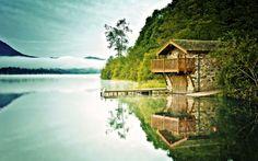 Lake House - Lakes Wallpaper ID 1171744 - Desktop Nexus Nature