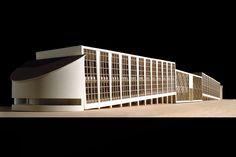 Melnikov - Progetto di laboratorio del Sonno nella Città Verde - 1:100