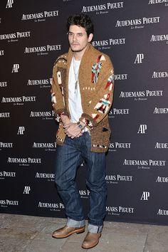 John Mayer attends the Audemars Piguet grand opening of Rodeo Drive Boutique at Audemars Piguet on December 9 2015 in Beverly Hills California