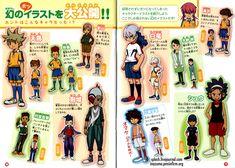 Resultado de imagem para art of Inazuma Eleven game