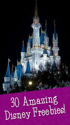 30+ Amazing Disney Freebies - Coupons and Deals - SavingsMania