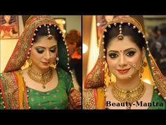 Simple Rajasthani bridal makeup tutorial