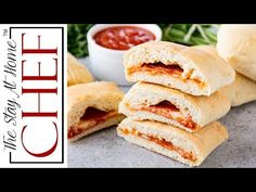 Homemade Hot Pockets are an easy homemade freezable lunch idea. They are perfect for an on-the-go meal, as well as to put in lunch boxes.