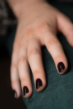 The perfect vamp nail at Derek Lam Spring 2016