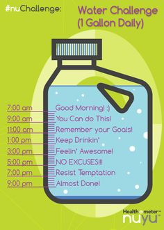 1000 Ideas About Gallon Water Challenge On Pinterest