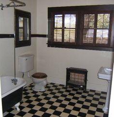 Craftsman Bathroom in 1912 Bungalow in Riverside, CA.