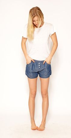 Virginia Short Chambray