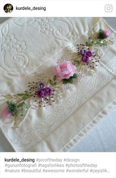 Wonderful Ribbon Embroidery Flowers by Hand Ideas. Enchanting Ribbon Embroidery Flowers by Hand Ideas. Embroidery Designs, Etsy Embroidery, Embroidery Hearts, Christmas Embroidery Patterns, Types Of Embroidery, Learn Embroidery, Silk Ribbon Embroidery, Embroidery For Beginners, Embroidery Stitches
