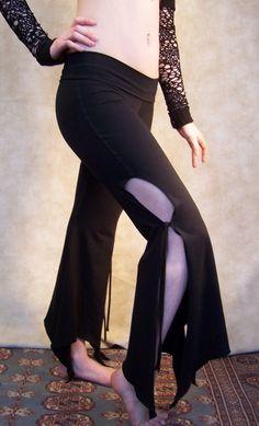 Black Shape Shifter Dance Pants.