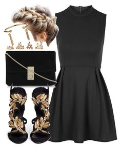 """""""Untitled #4444"""" by angela379 ❤ liked on Polyvore featuring WalG, Giuseppe Zanotti, Forever 21 and Topshop"""