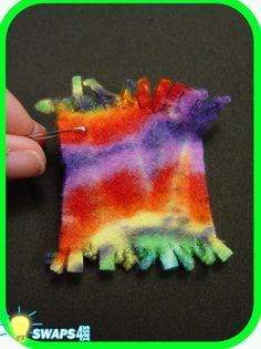 Friendship Blanket       Here's a mini fleece friendship blanket, that will be sure to warm the hearts of the friends you make at camp.     All the fu