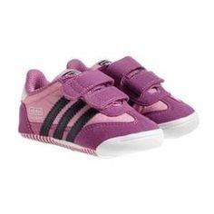 adidas 'Learn-2-Walk - Dragon' Crib Shoe (Baby Girls)
