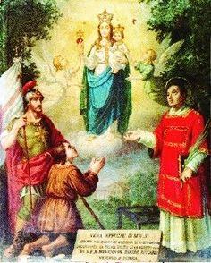 Madonna de Ozegna / 21 de Junio / Año: 1623 / Lugar: Ozegna, Provincia de Turín, Italia / Aparición de la Virgen y el Niño Jesús a un joven sordomudo.