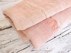 Antique Spanish Drap Cloth Made New: Espanyolet in Mallorca - Remodelista Textile Fabrics, Textile Patterns, Home Textile, Flax Fiber, Almond Blossom, Fabulous Fabrics, Texture Design, Colour Schemes, Antiques
