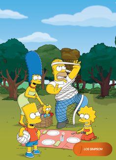 Un picnic a lo Simpson. Los Simpson - Domingos 20.30 #LosSimpsonEnFOX Mira contenido exclusivo en www.foxplay.com