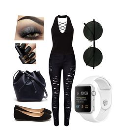 """""""punk queen"""" by gracegrimm ❤ liked on Polyvore featuring WithChic, Lacoste, Miss Selfridge and Urban Decay"""
