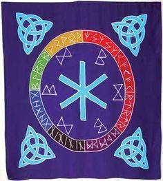 3' x 3' Rune Mother Cloth