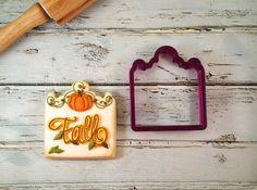 Garden Gate or Head Board Cookie Cutter by BobbisCookiesCutters