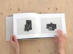 Fotografica by Ola Lanko. Example of the book for Behoud