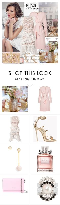 """LISTEN YOUR HEART"" by lovemeforthelife-myriam ❤ liked on Polyvore featuring Ted Baker, Alexis, Dsquared2, BaubleBar, Christian Dior, Givenchy, Yvonne Léon and Dolce&Gabbana"
