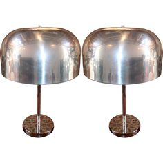 Pair of Lightolier Table Lamps | From a unique collection of antique and modern table lamps at https://www.1stdibs.com/furniture/lighting/table-lamps/
