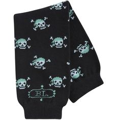 Yes, yes I DID buy skull-covered baby leg warmers.