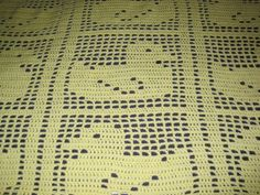 Baby Blanket Baby Afghan Baby Boy Baby Girl by AfghansForBabies Crochet Baby Beanie, Baby Afghan Crochet, Baby Afghans, Crochet Bear, Baby Knitting, Crochet Animals, Crochet Toys, Filet Crochet, Baby Sport
