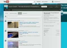 YouTube Channel der mycon GmbH