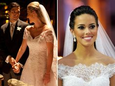 10 vestidos de noiva ombro a ombro | Constance Zahn - Blog de casamento para noivas antenadas.