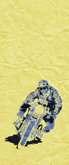 Illustration by Nuno Capêlo #caferacer #illustration #design #motorcycles #motos | caferacerpasion.com