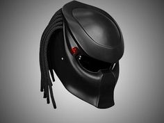 Predator Motorcycle Helmet With Laser Controlled Aimer