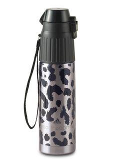 Leopard water bottle from Adidas by Stella McCartney