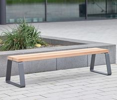 Campus levis Stoolbench 39 cm by Westeifel Werke | Exterior benches