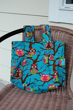 Adorable owl bag