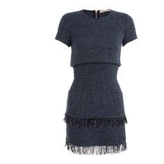 maje RIO Braided Knit Dress