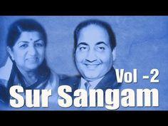 ▶ Mohd. Rafi & Lata Mangeshkar Superhit Song Collection - Vol 2 - Sur Sangam - YouTube