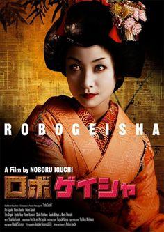 Japan, Robo-geisha, ロボゲイシャ, Aya Kiguchi, Hitomi Hasebe, Noboru Iguchi, poster art, cinema