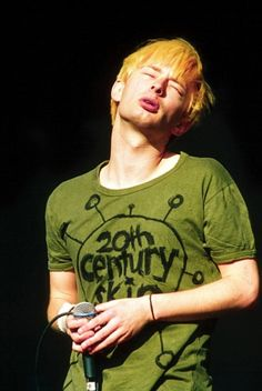 Thom Yorke - #Radiohead - Reading Rock Festival, Britain - Aug 1994