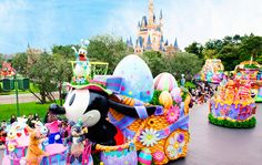 Easter Wonderland at Tokyo Disneyland