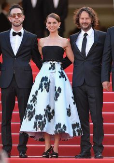 Natalie Portman in Christian Dior at Cannes 2015
