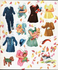 Kathleen Taylor's Dakota Dreams: Thursday Tab- Saalfield Honey Kitten * 1500 free paper dolls Arielle Gabriel's The International Paper Doll Society free paper dolls for Pinterest pals *