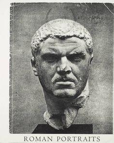 Roman portraits / Gisela M. A. Richter, 1948. Metropolitan Museum of Art Publications. The Metropolitan Museum of Art, New York (b10403395) | This is the cover of a 1948 exhibition catalog. #sculpture