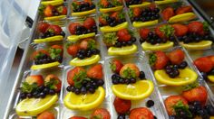 https://flic.kr/p/rLsgXt | Fruits in plastic trays | In Kentucky, the Whitley County School District customizes the fruit and vegetable options served in each school, based on the preferences of those particular students.