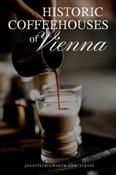 Jennifer Eremeeva on Vienna's coffeehouse tradition Austrian Empire, Coffeehouse, Vienna, Traditional, Drinks, Tableware, Food, Coffee Shops, Drinking