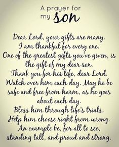 Father in Heaven, thankful for all your blessings. Prayer For My Son, Prayer For My Children, Quotes Children, Child Quotes, Quotes Kids, Daughter Quotes, Son Quotes From Mom, Prayers For Baby Boy, A Mothers Prayer