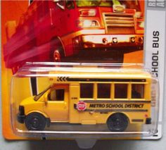 Matchbox City Action GMC School Bus by Matchbox. $16.99. #42. made in 2008. 2/11 City Action. Ages 3+. 1/64 Scale