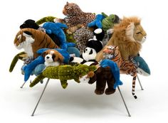CHAIR OF ANIMALS