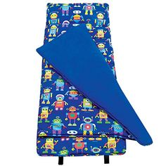 Slumber Bags - Olive Kids Robots Nap Mat * Want additional info? Click on the image.