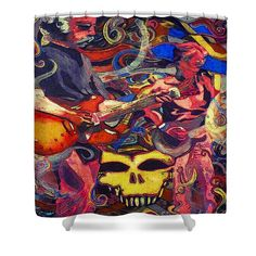 Shower Curtains - Going Furthur Shower Curtain by Kevin J Cooper Artwork